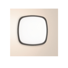 applique ges090 20w luce naturale 4000k gealed antracite ip65