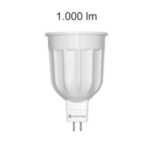 lampadina led power mr16 gu5.3 12w luce calda 830 beneito faure