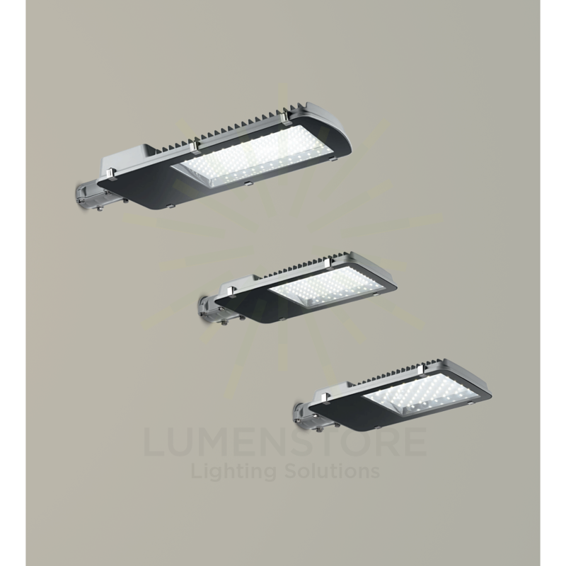 lampione ges008 100w luce naturale 4000k gealed ip65