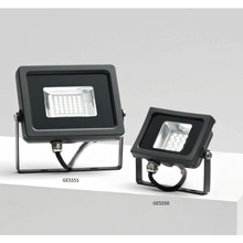 proiettore led ges550n 10w luce naturale 4000k gealed antracite ip65